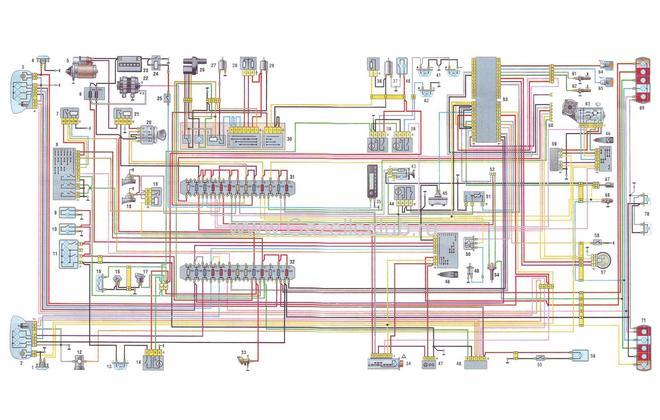 Электрическая схема ГАЗели