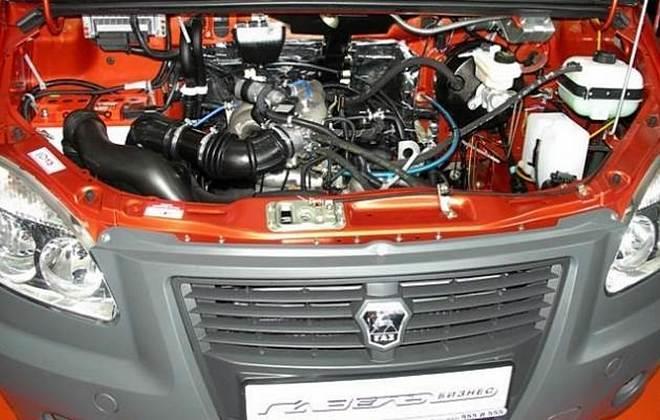 Машина с УМЗ-4216