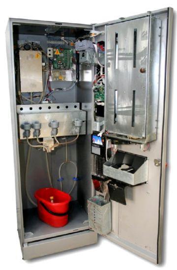 Кофейный автомат изнутри
