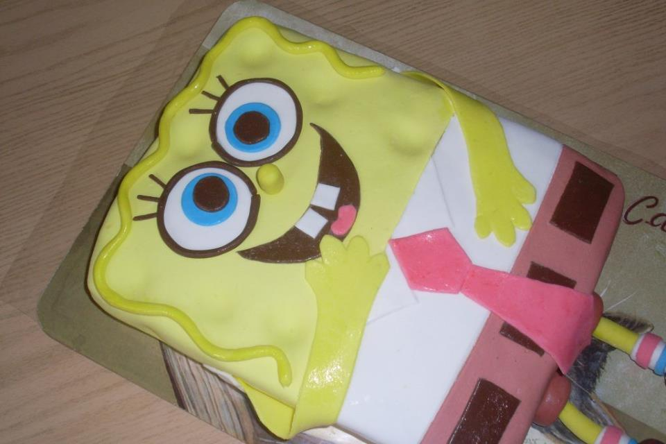 торт из мультика