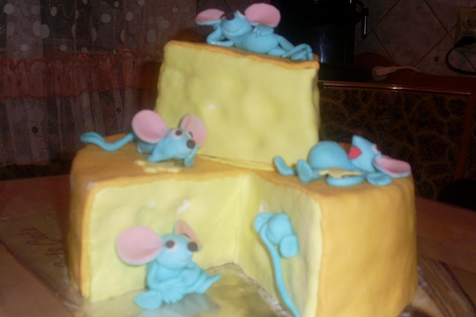 творческий вариант торта