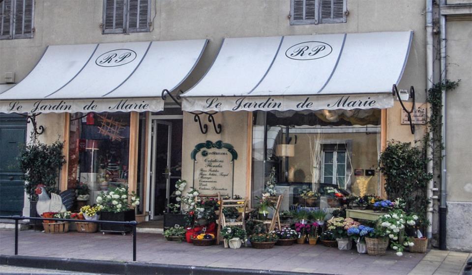 Правильное название цветочного магазина