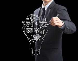 Рисунок символизирующий разработку бизнес идеи