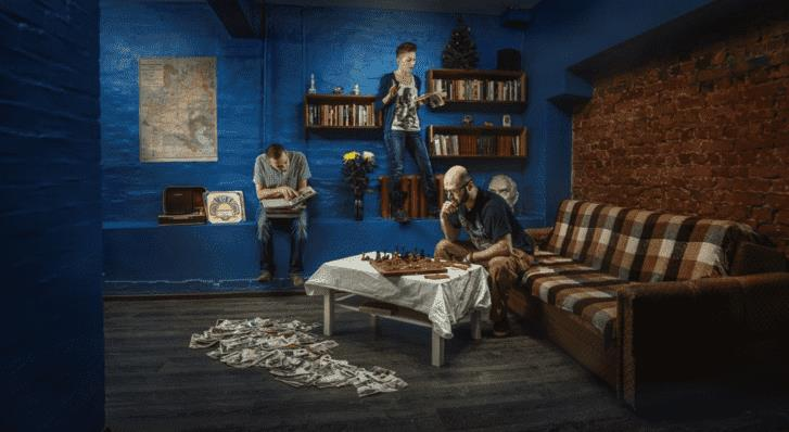 Рисунок 5. Квест в реальности «Советская квартира»
