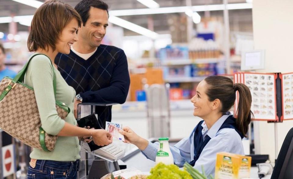 продавцы продуктового магазина