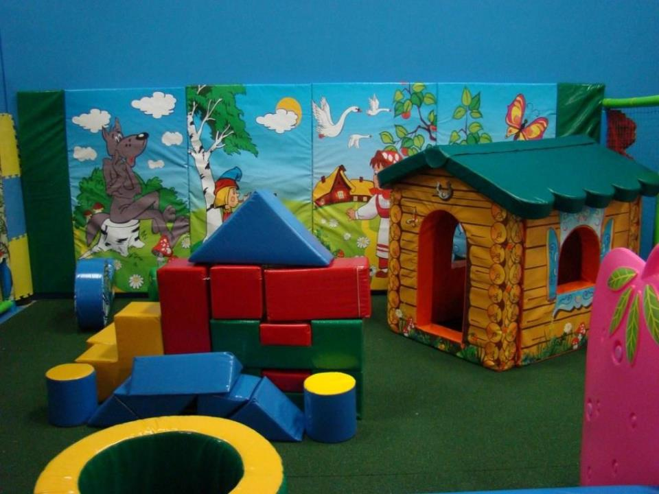 Мягкая комната для малышей