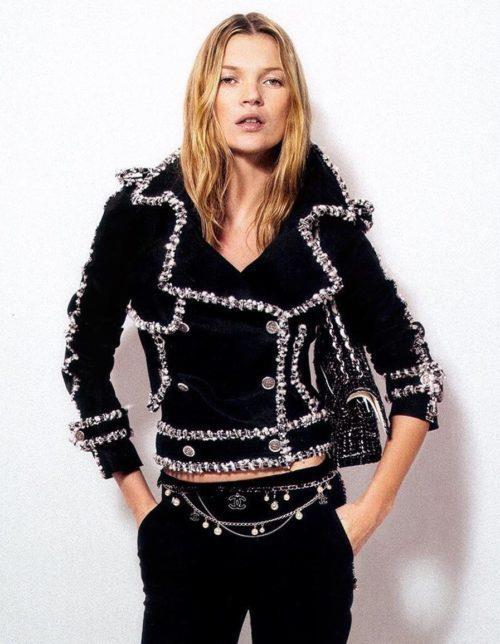 Кейт Мосс. Фотосессия для Chanel.