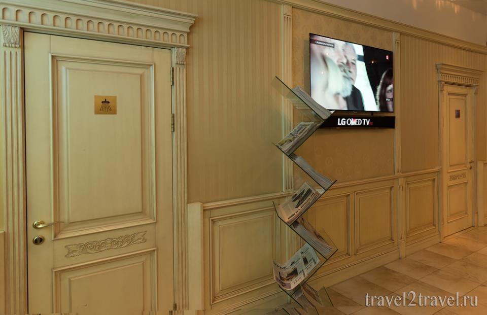 душевая бизнес-зал Классика (Classic Lounge) Шереметьево Терминал F