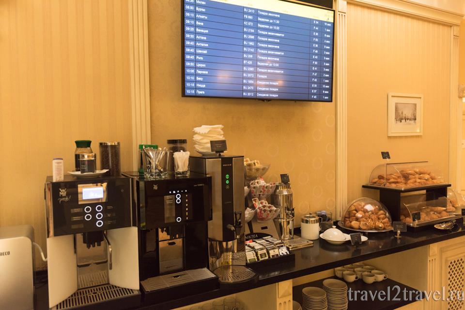 напитки бизнес-зал Классика (Classic Lounge) Шереметьево Терминал F