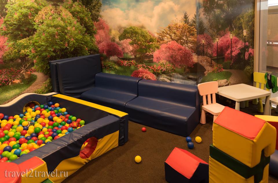 детская игровая комната бизнес-зал Классика (Classic Lounge) Шереметьево Терминал F