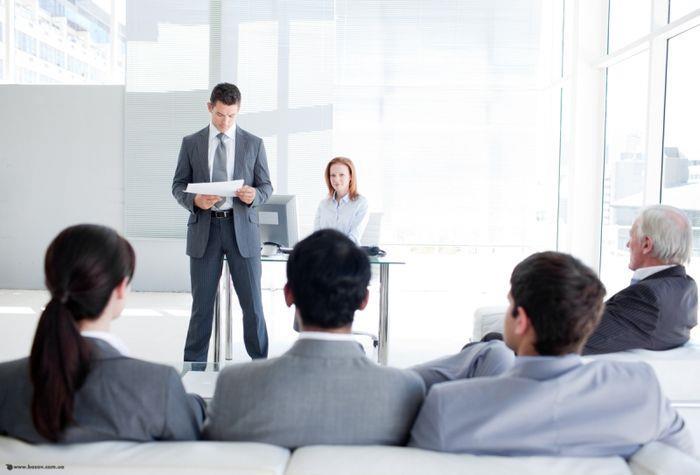 Этапы проведения презентации бизнес плана