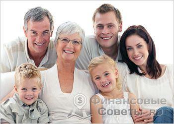 Помощь родственников