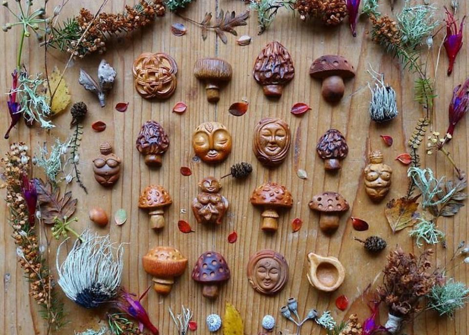 Украшения и аксессуары из экзотических фруктов