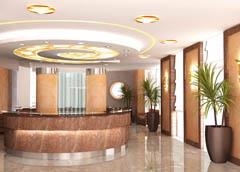 Ресепшен гостиницы