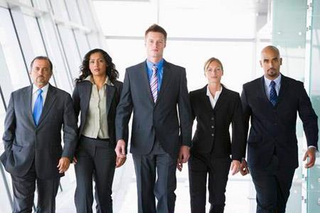 Группа людей, занимающихся бизнесом