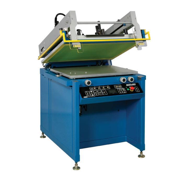 Полуавтоматический станок для трафаретной печати