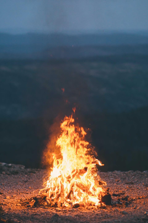 Ритуал для очищения огнем