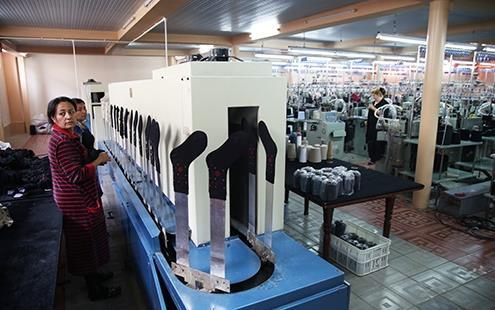 производство детских носков