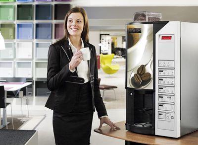 место установки кофейного автомата