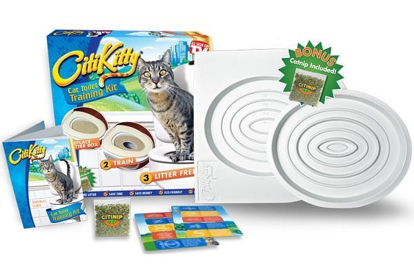 Обучающий туалет для кошек