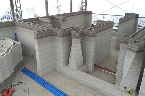 Дома из глины на 3D принтере