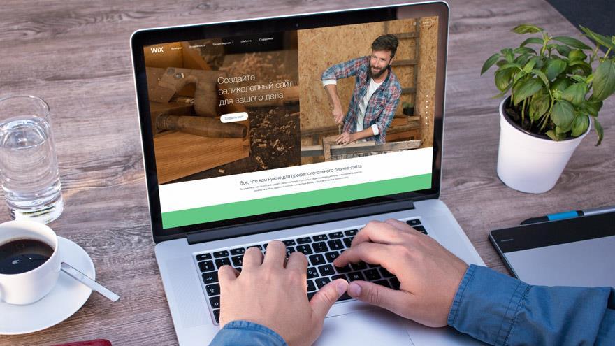 Wix - удобный конструктор бизнес-сайтов