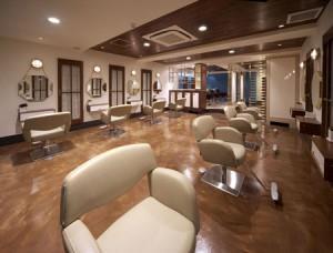 Образец современного интерьера салона красоты