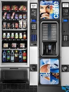 Автоматы для продажи еды и напитков