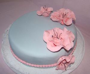 Торт на заказ с цветами