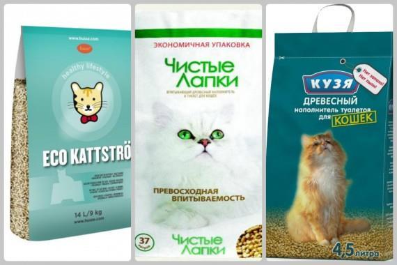 наполнители для кошачьих туалетов в гофротаре