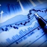 Рисунок, на котором изменение валютных курсов на биржах