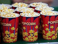 Продажа попкорна