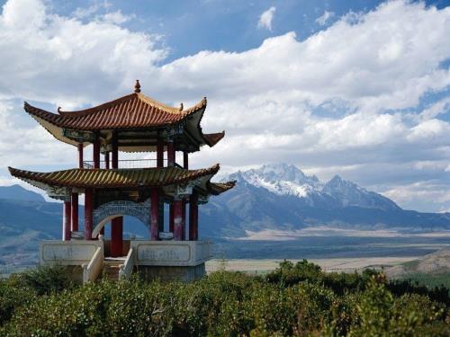 Красивый вид в Китае