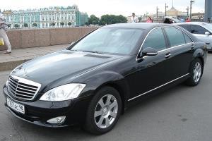 Mercedes W221 Black