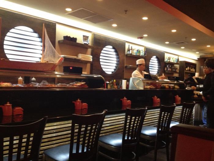суши бар открытие