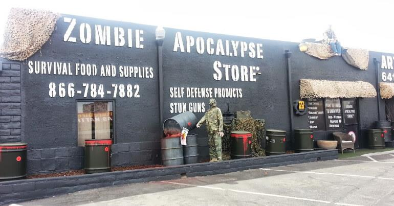 Магазин на случай зомби-апокалипсиса