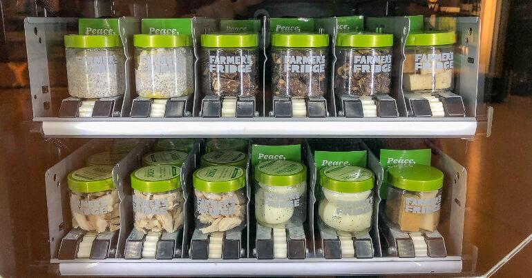 Автомат для салатов