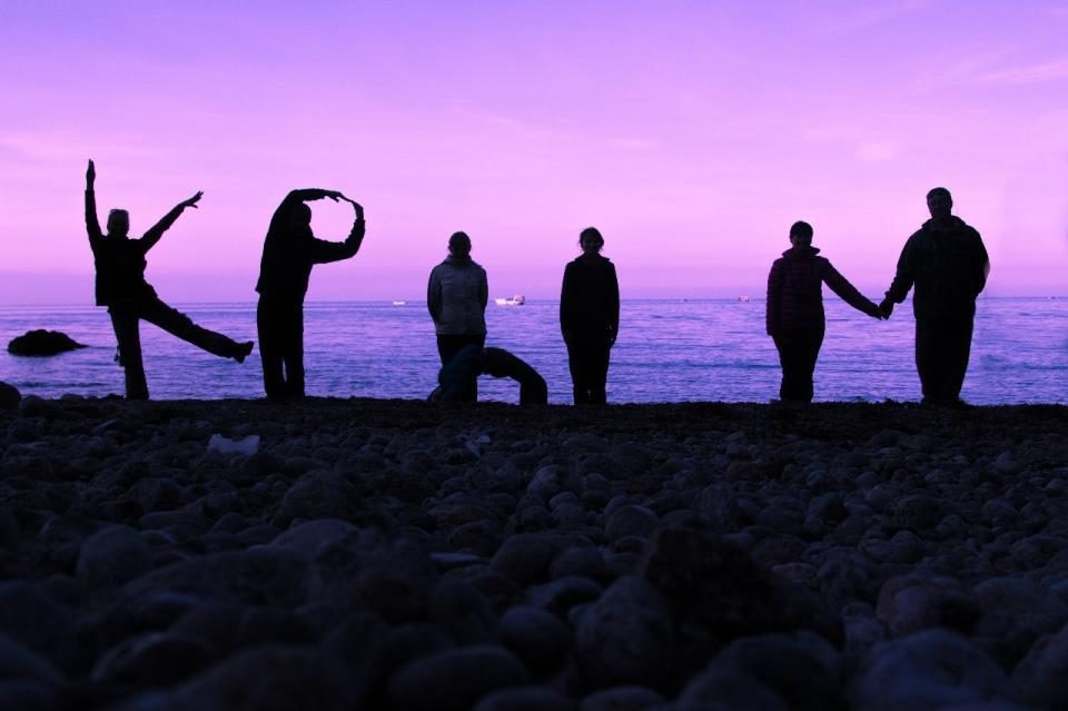 закат, Крым