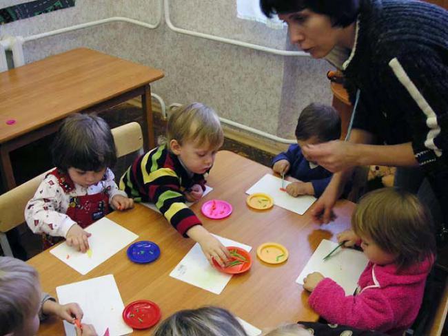 """Открытие """"развиваек"""" и школ для малышей"""