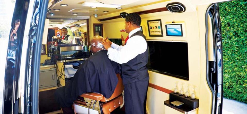 Идеи для бизнеса на колёсах: парикмахерская