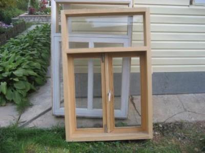 Окна б/у для последующей переработки