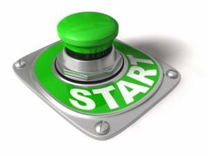 Изображение кнопки, на которой написано старт