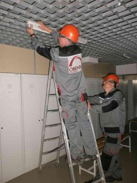 Услуги по техническому обслуживанию зданий и торговых центров