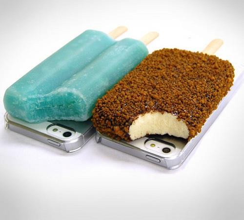 чехол на смартфон в виде мороженого