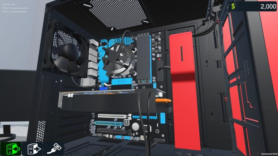 Pc Building Simulator геймплей