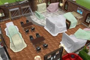 Фото уютного кафе на открытом воздухе