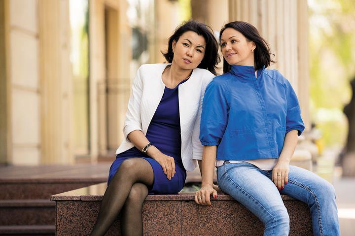 Алиса Вильгельм иЖанна Шарапиева — владелицы компании «Мануфактура «Карамельково».