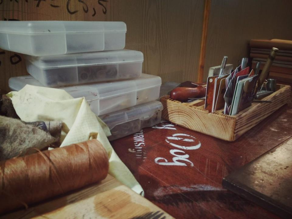 мастерская кожаных дел мастера