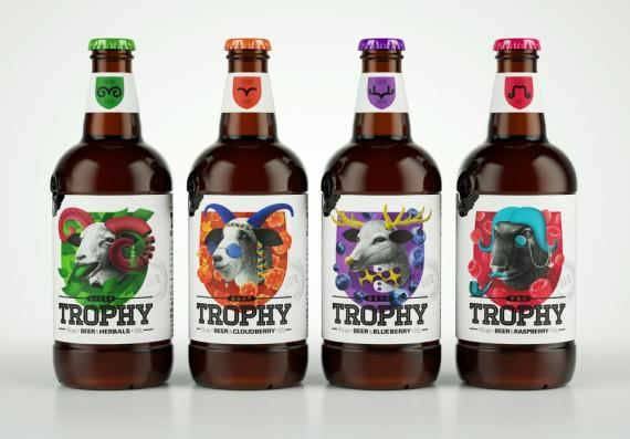Пиво в бутылках