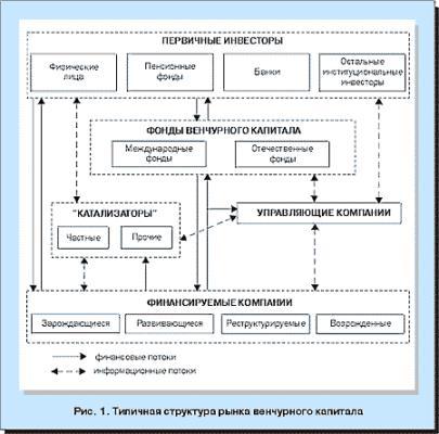 Типичная структура венчурного капитала